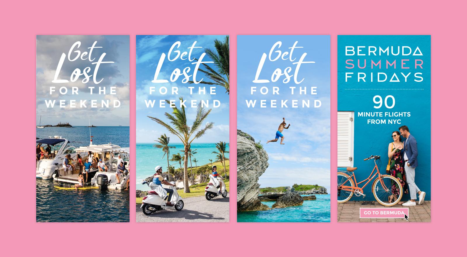 Bermuda digital banner ads