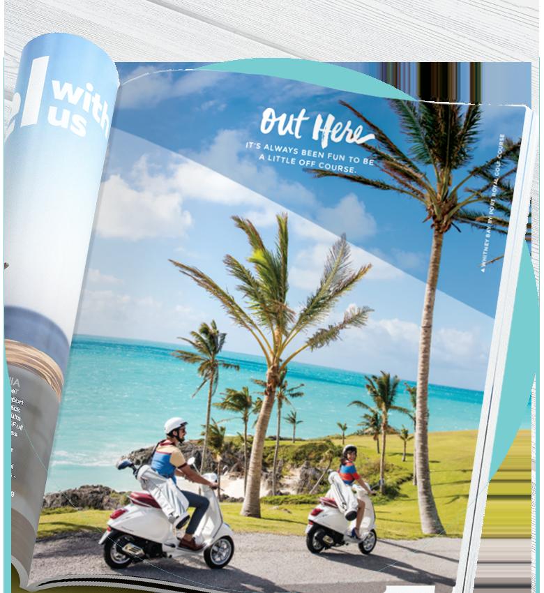 Bermuda print ad