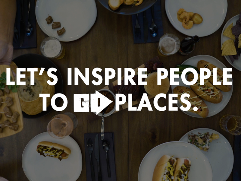 Let's Inspire People to go Places
