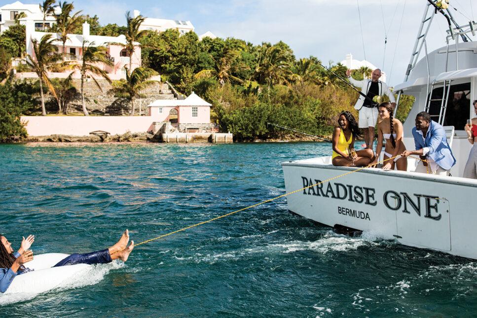 Boat in Bermuda