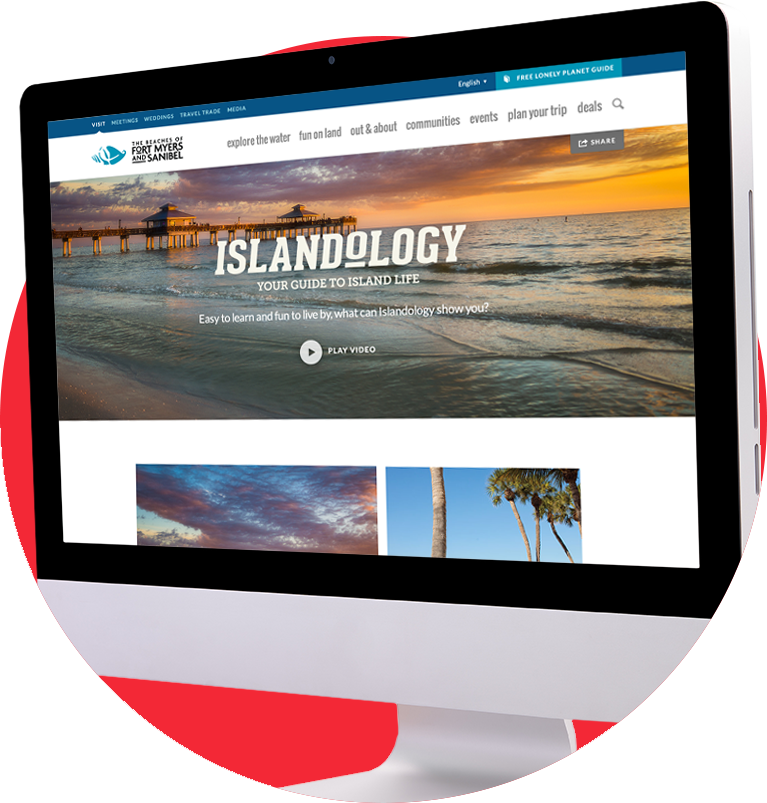 Islandology landing page