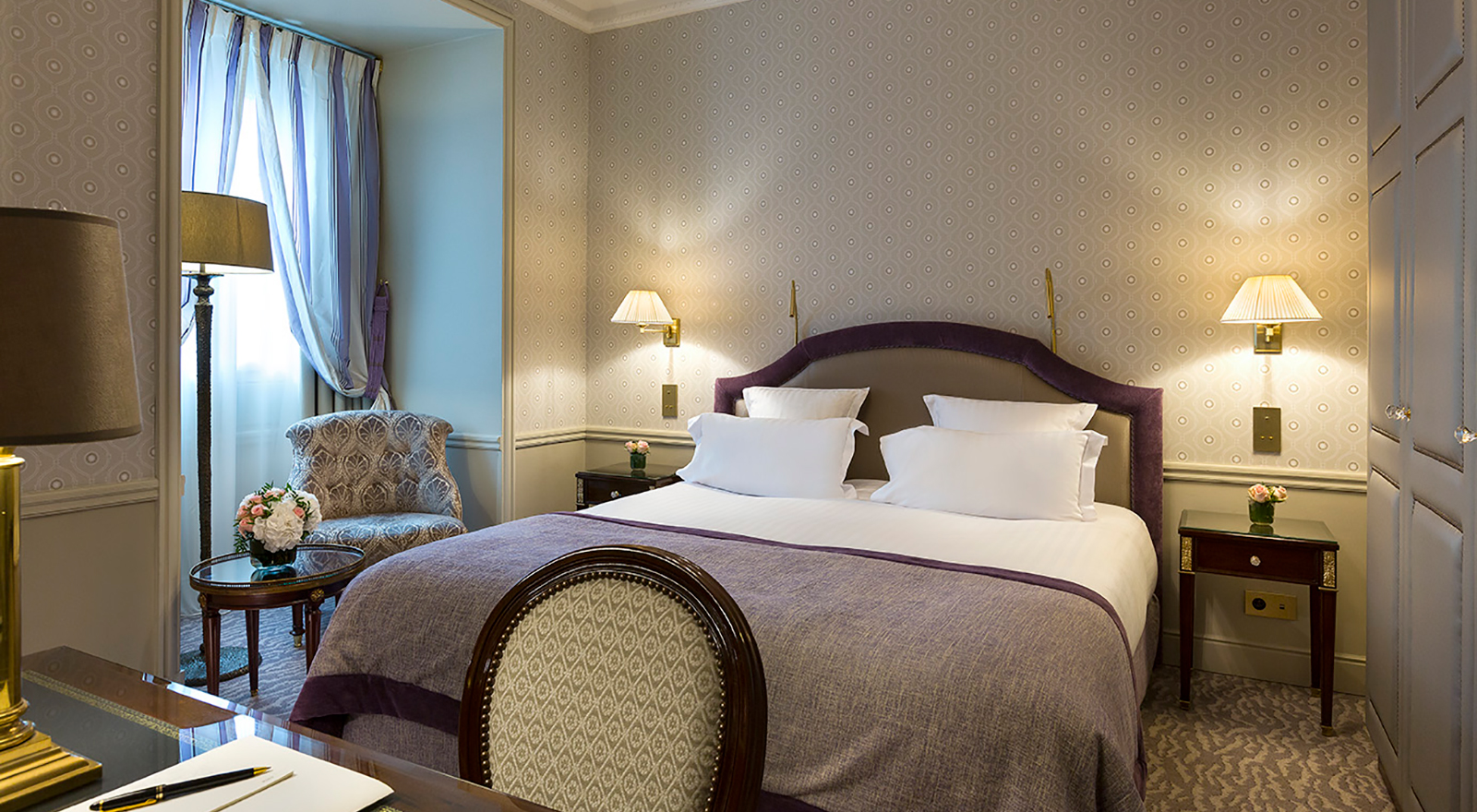 Signature Room of Warwick Hotels property