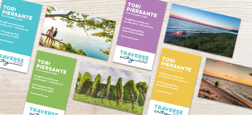 traverse city business cards