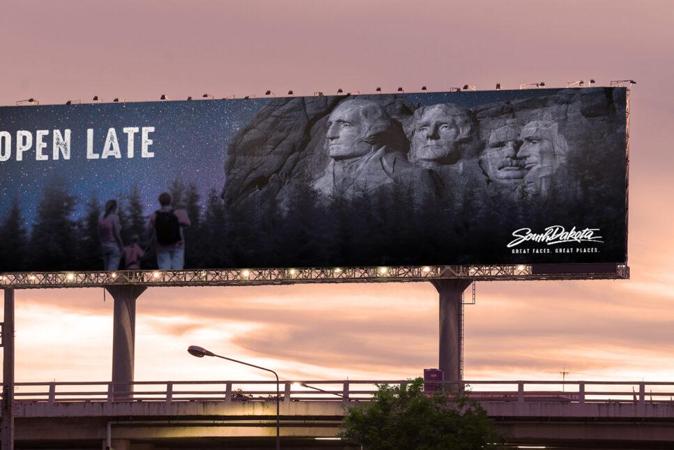 SD billboard