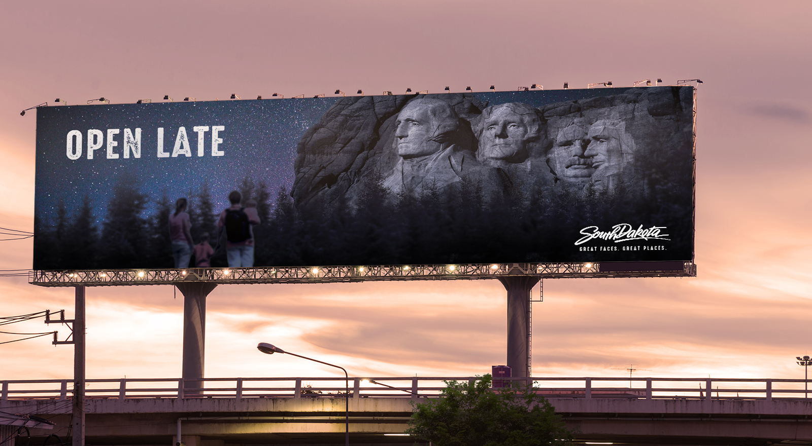 SD billboard
